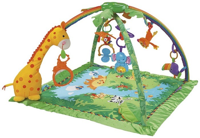 Fisher Price Rainforest Play Gym Review – Best Baby Play Mat!