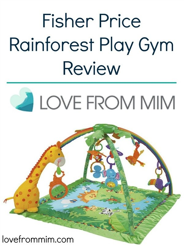 Fisher Price Rainforest Play Gym Review - Love from Mim