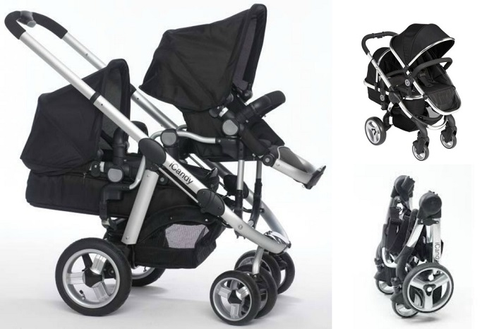 iCandy Peach Stroller Review - Love from Mim A great convertible double stroller for two babies!