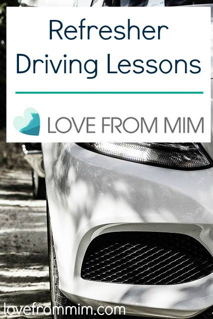 New Year Goal 2015 - Refresher Driving Lessons - lovefrommim.com New Year Resolutions Learning to Drive