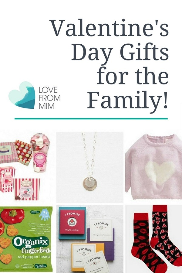 Valentine's Day Gift Guide for the Family! Love from Mim