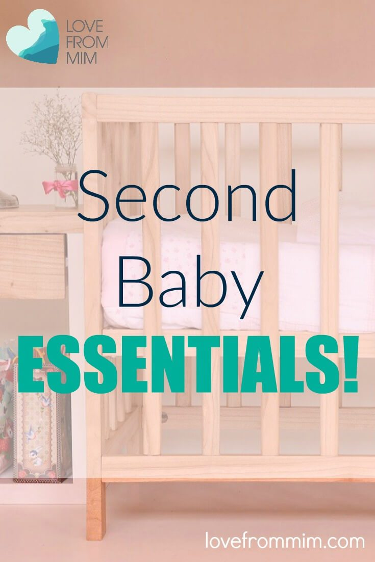 Second Baby Essential Products - Love from Mim Free Baby Registry List Printable What do I need for my second baby Second Baby Shopping List Second Baby Registry #secondbaby #babynumber2 #babytwo #baby2 #secondtimemum #secondtimemom