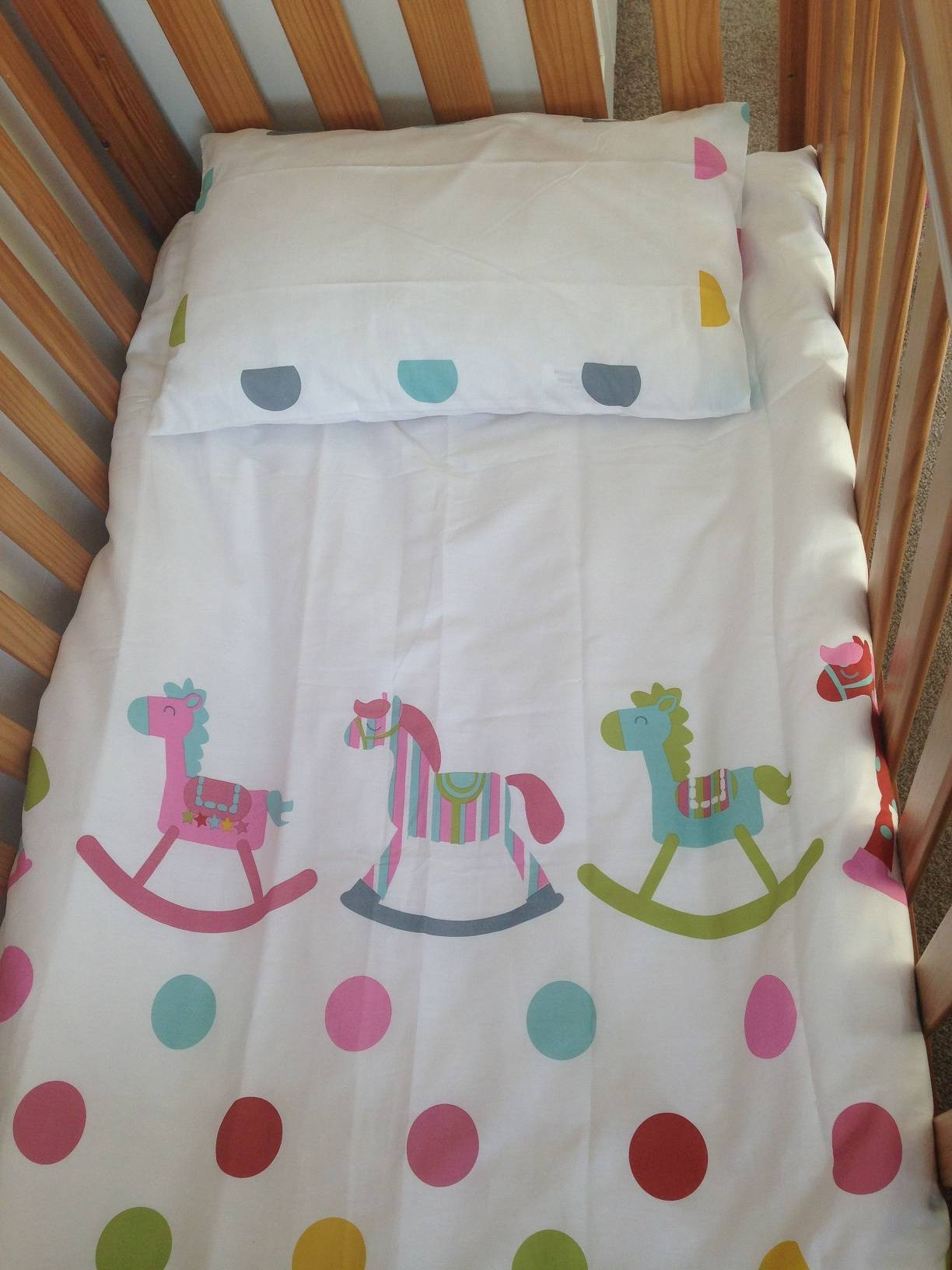 Baroo Rocks n Spots Cotbed Duvet Set Review - lovefrommim.com Toddler Bed Toddler Bed Linen Toddler Duvet and Pillow Cover Set