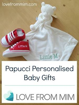Papucci Personalised Baby Gifts - lovefrommim.com Gifts for Babies Gifts for New Mums Gifts for New Moms Gifts for New Parents New Baby Gift Ideas Personalised Baby Presents