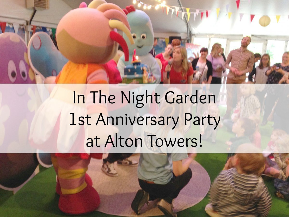 In The Night Garden at Alton Towers!