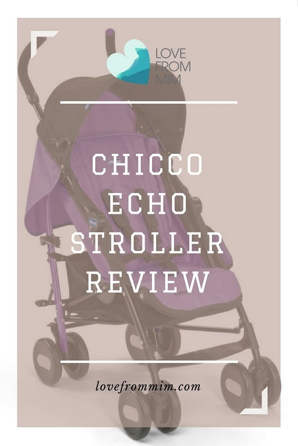 Chicco Echo Stroller Review - Love from Mim Find out why we love this lightweight umbrella stroller