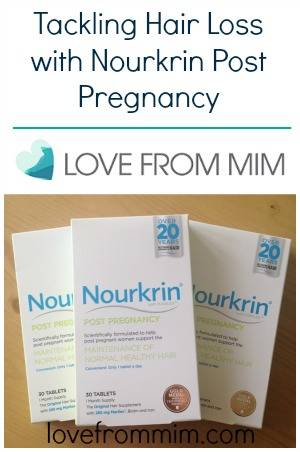Tackling Hair Loss Post Pregnancy - lovefrommim.com Post Pregnancy Hair Loss Nourkrin Post Pregnancy Tablets