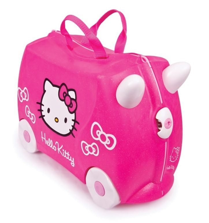 Hello Kitty Trunki Review - Love from Mim This was the best kids suitcase we have tried!