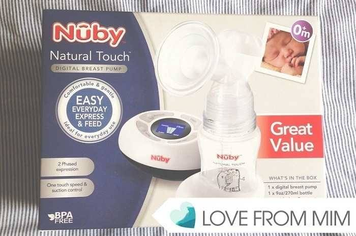 Nuby Natural Touch Digital Breast Pump Review - Love from Mim