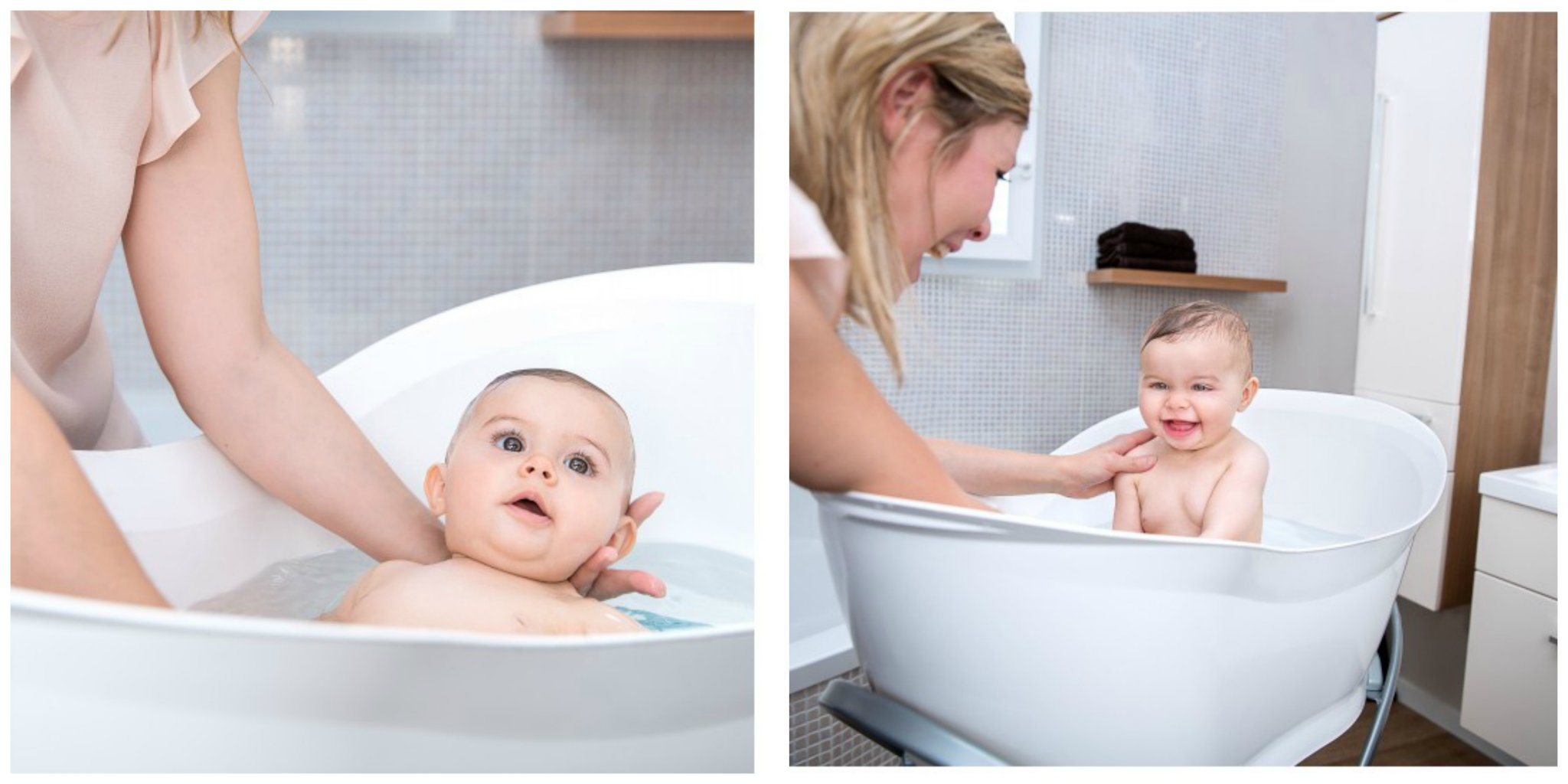 How to bathe two Babies - Love from Mim