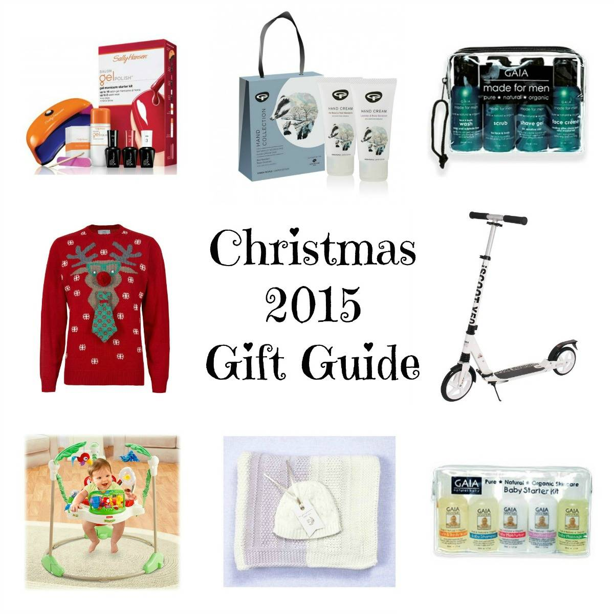 Family Christmas Gift Guide 2015 - Love from Mim