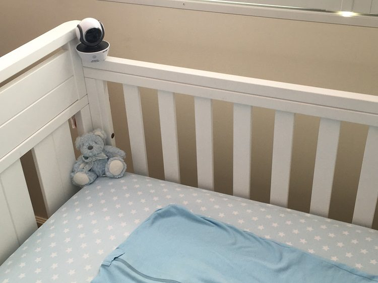 Motorola Wi-Fi Baby Monitor Review - Love from Mim