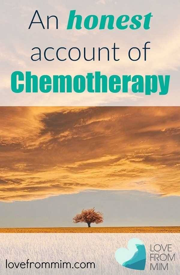 An honest account of chemotherapy - my AC chemo experience - Love from Mim