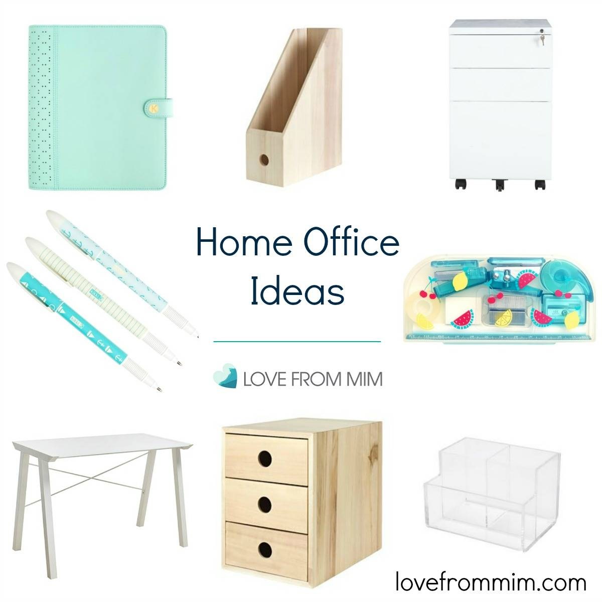 Home Office Ideas - lovefrommim.com Setting up a Home Office Workspace Home Office Decoration