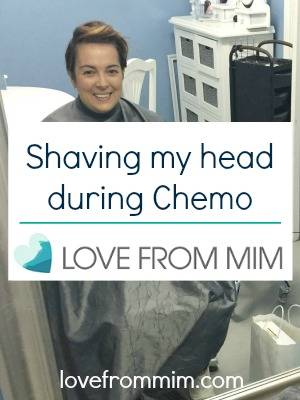 Shaving my head during Chemo! lovefrommim.com Triple Negative Breast Cancer Chemotherapy Shaving Head Hair Loss from Chemotherapy AC Chemo Head Shave Wig Fitting Wig Cut should i cut my hair before chemo