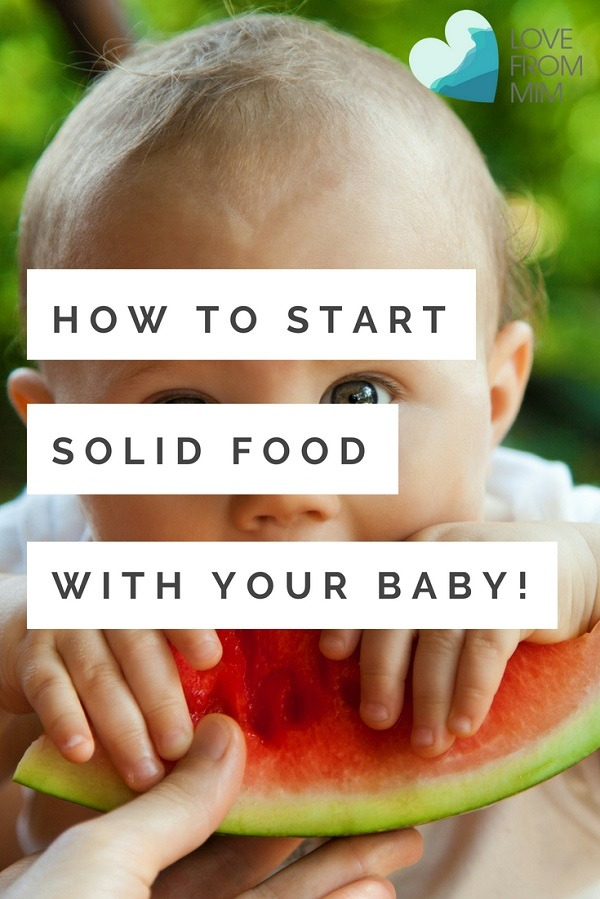 When Should Babies Start Solid Food