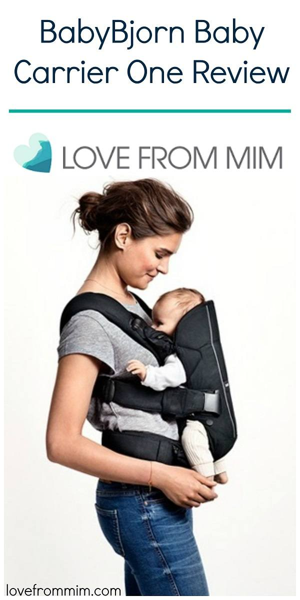 Looking for the best baby carrier? My BabyBjorn Baby Carrier One review has everything you need to decide if this Baby Bjorn carrier is for you! Love from Mim #babywearing #babycarrier #babybjorn #bestbabycarrier