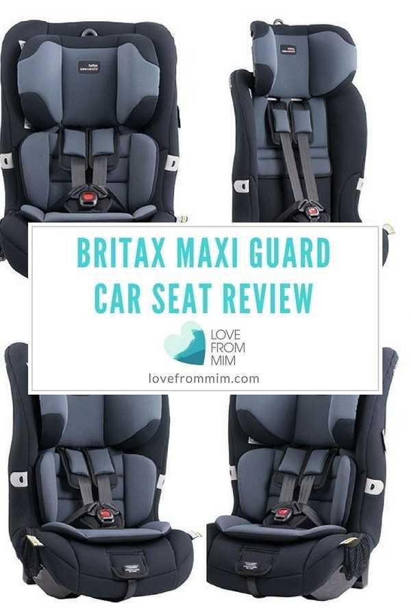 Britax Safe N Sound Maxi Guard Car Seat Review