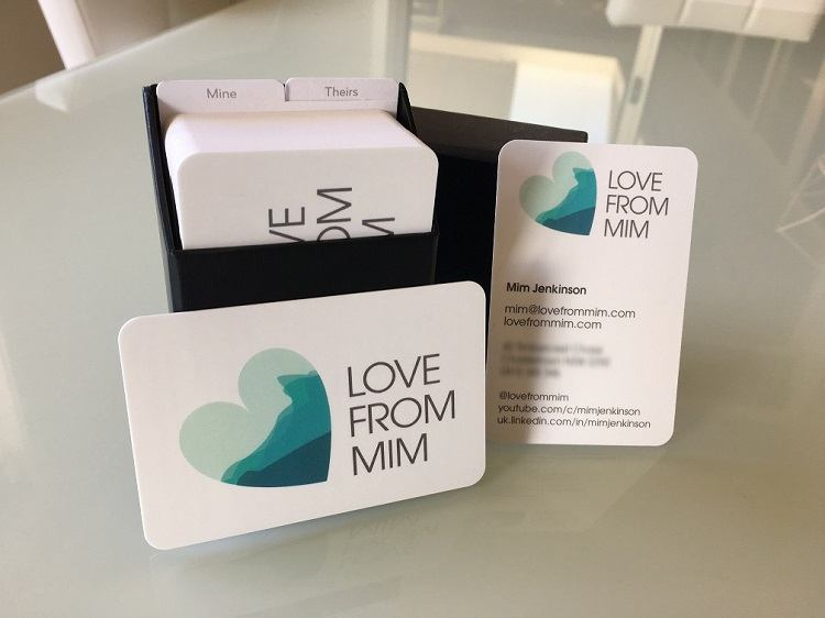 Moo Business Cards Review - Love from Mim