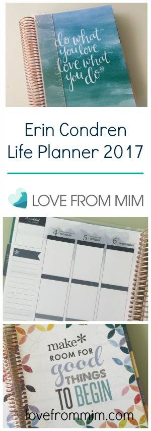 Erin Condren Life Planner 2017 - lovefrommim.com Erin Condren Life Planner Unboxing Planners Planning To Do Lists How plan your day How do you plan Erin Condren LifePlanner Erin Condren 2017 Life Planner Review