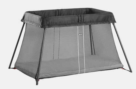 BabyBjorn Travel Cot Light Review - Love from Mim