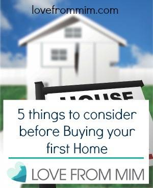 5 things to consider before buying your first home love from mim - Important thing consider decluttering ...