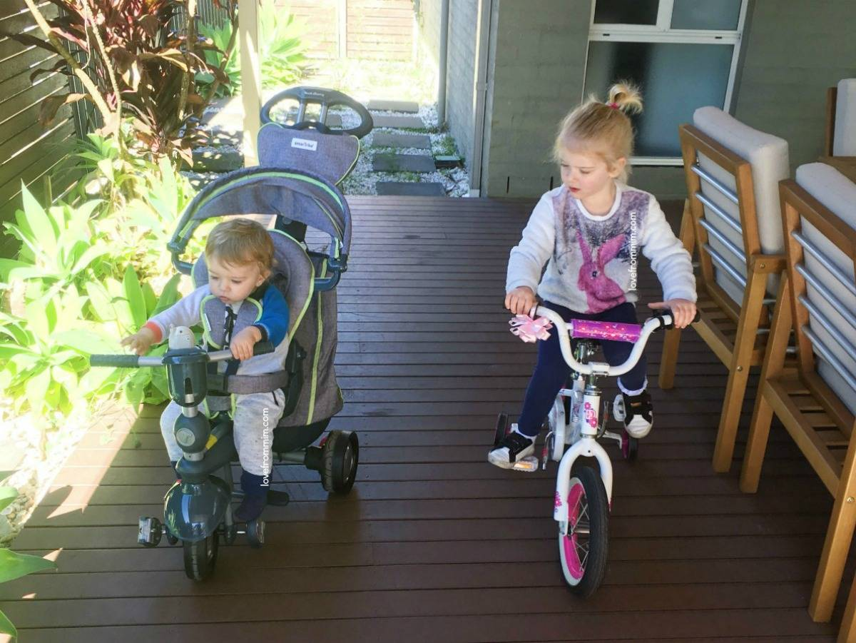 Getting back outside with the kids + SmarTrike Giveaway!