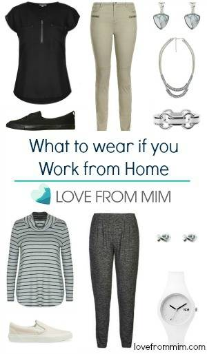 What to wear if you Work from Home - lovefrommim.com Work from Home outfit ideas what to wear to work from home Casual dress day outfit ideas business casual outfits
