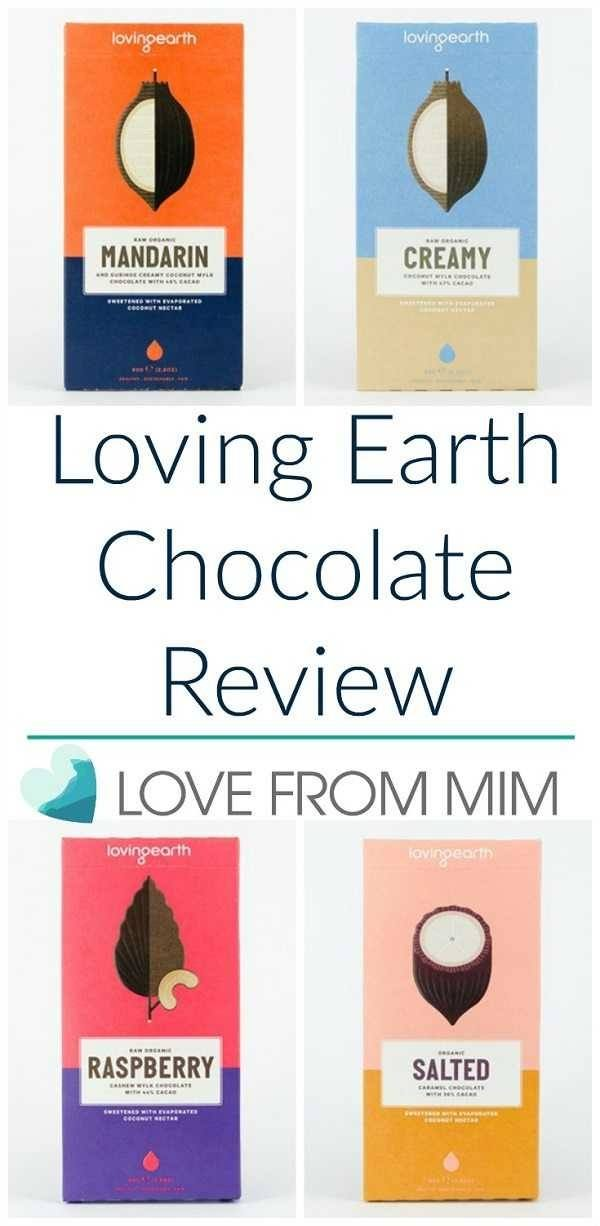 Loving Earth Chocolate Review. If you love raw, organic chocolate, you'll love Loving Earth Chocolate!