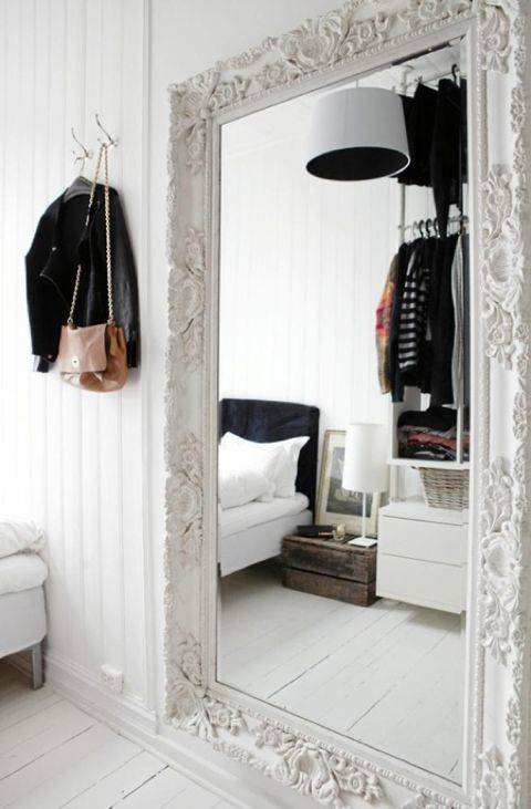 3 ways to brighten a dark bedroom love from mim for How to use mirrors to brighten a room