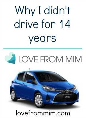 I have a new car! lovefrommim.com Refresher Driving Lessons Getting back on the Road Partsales Finding Car Parts Black Toyota Yaris Ascent