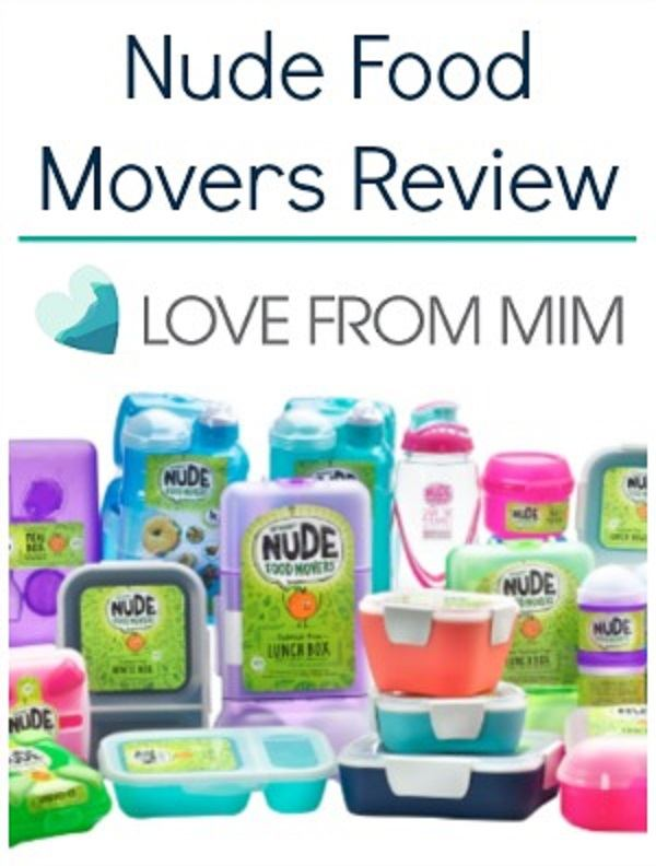 Nude Food Movers Review - Love from Mim Lunch Box Ideas for Kids