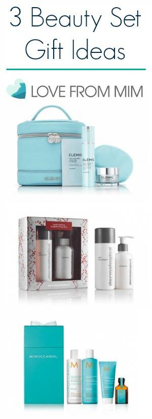 3 Christmas Beauty Set Ideas + a Giveaway! lovefromim.com Love from Mim Dermalogica Brightening Duo Set Dermalogica Daily Microfoliant Dermalogica Pre Cleanse Dermalogica Skincare Set Beauty Gift Set Christmas Beauty Gift Set Elemis Pro-Collagen Anti-ageing Night Time Collection Morocconoil Volume Pack