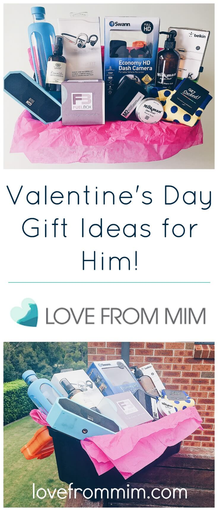 10 Valentine's Day Gift Ideas for Him! - Love from Mim