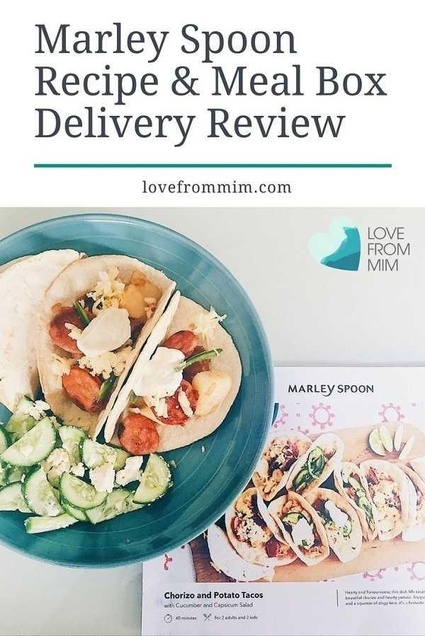 Marley Spoon Review - Love from Mim Marley Spoon Recipe and Meal Box Delivery