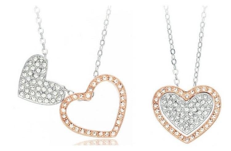 My Jewellery Story Cupid Heart Dual Tone Necklace