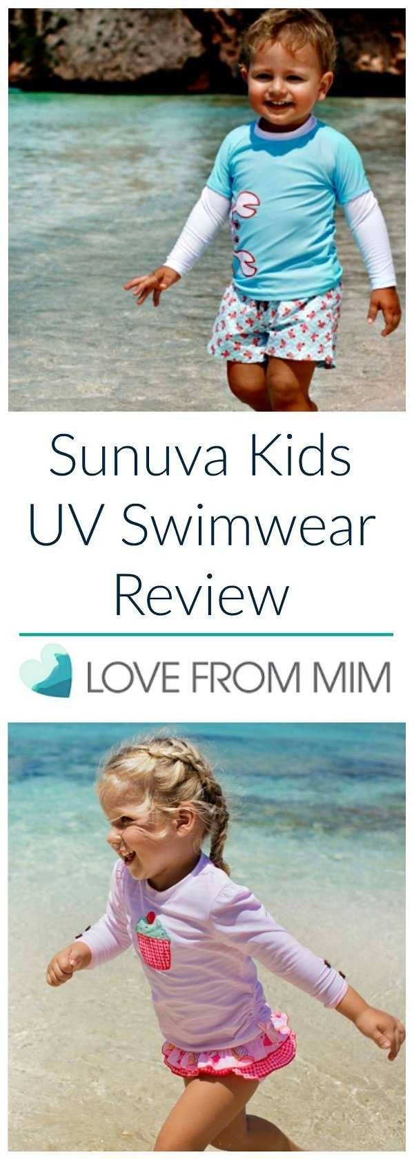 Looking for the best kids swimwear? In this Sunuva Kids UV Swimwear review, I share our honest thoughts on their range of kids and baby swimwear - Love from Mim #kidsswimwear #babyswimwear #swimwearforkids #kidsswimming #kidsstyle #kidsfashion