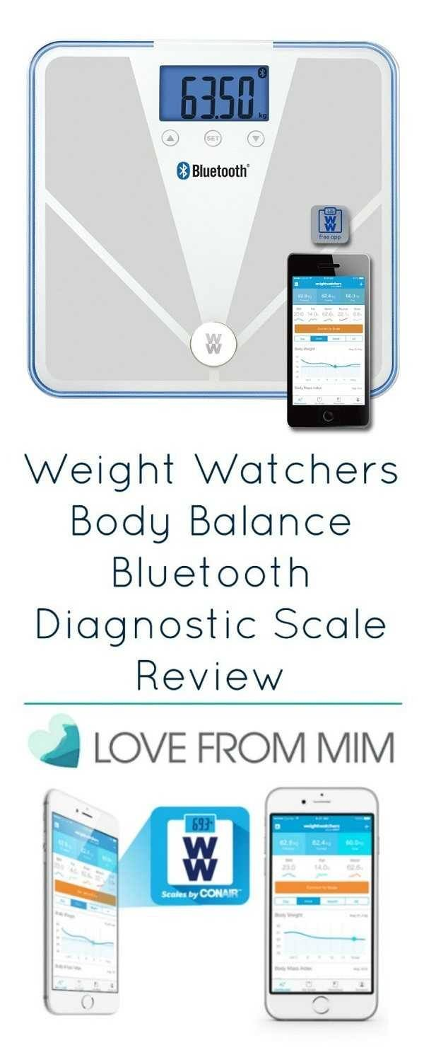 Looking for a great digital scale? Checking out my Weight Watchers Body Balance Bluetooth Diagnostic Scale review. A full review of this new Weight Watchers Scale and how it can help with weight management. #weightwatchers #bodybalancescale #bluetoothscale #bestscale #digitalscale #weaightwatchersscale