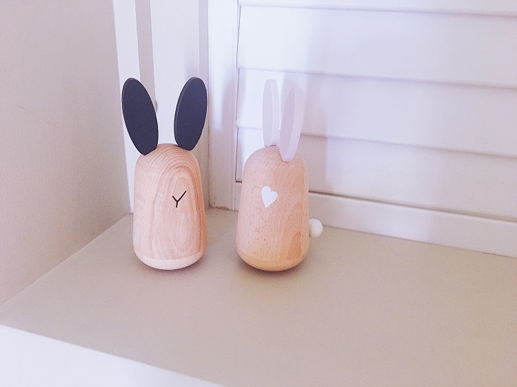 Musical Toy Rabbits - Love from Mim