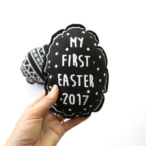 """My First Easter"" Baby Rattle - Love from Mim"