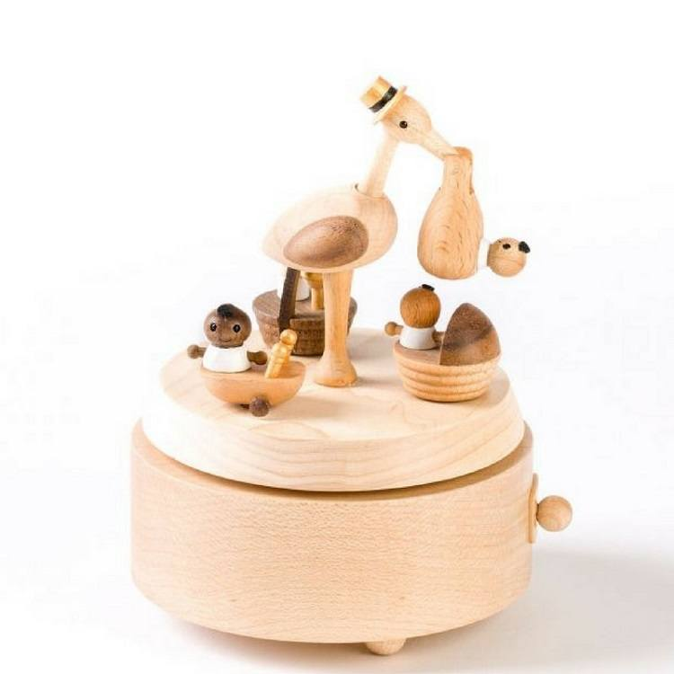 Wooden Musical Box - Love from Mim