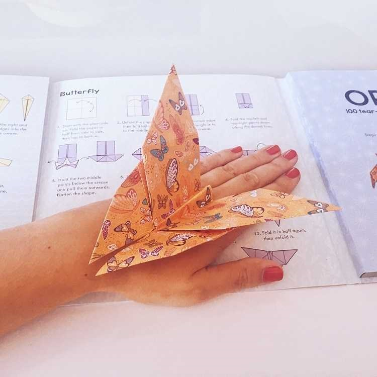 Origami Tear Off Pad - Love from Mim