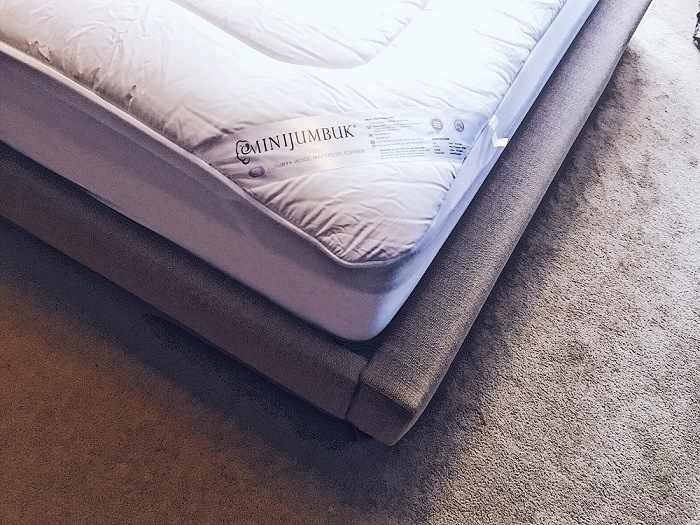 MiniJumbuk Luxury Wool Mattress Topper Review - Love from Mim