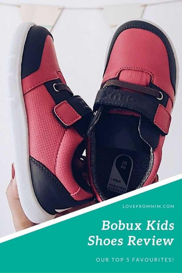 Bobux Shoes Review - five of our favourite Bobux Reviews! Love from Mim #kidshoes #bobux #bobuxreview #bobuxreviews Bobux Kids Shoes Bobux Shoes Review