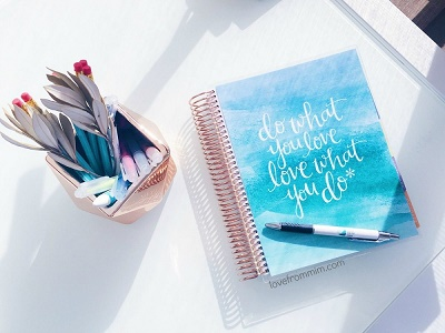 How to be more Organised - Love from Mim