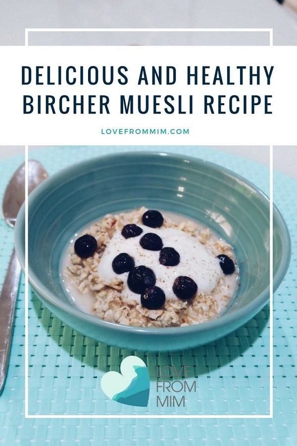 If you're looking for delicious and healthy Bircher Muesli recipe, this is my fave! #birchermuesli #healthymuesli #healthybreakfastrecipes #birchermueslirecipe #breakfastrecipes #weightwatchers #weightwatchersrecipe