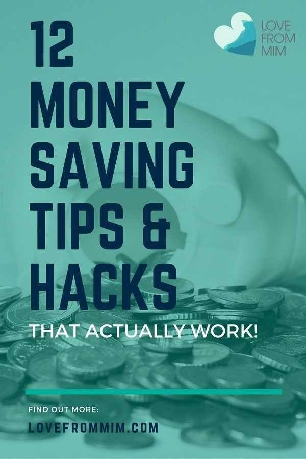 Looking for ways to spend less and earn more money? Here are 21 awesome Money Saving Tips and Hacks that will actually work for you and your family! Love from Mim
