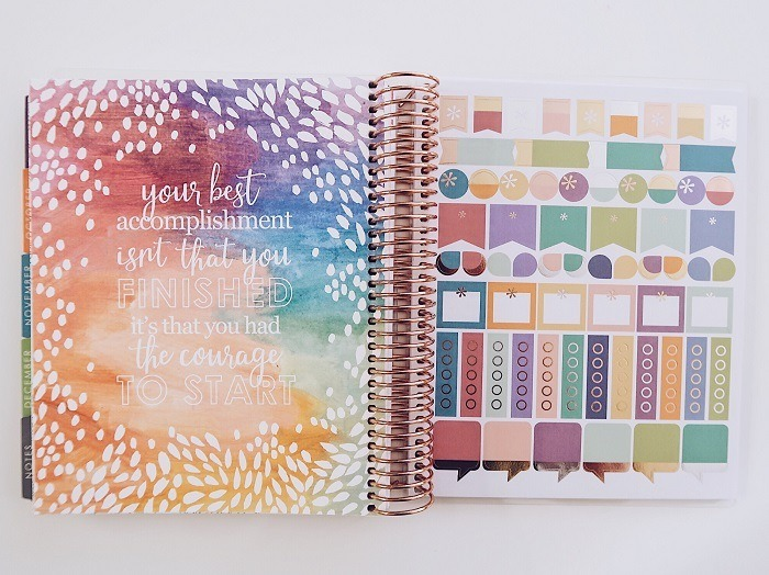 Erin Condren LifePlanner 2017-2018 Review - Love from Mim