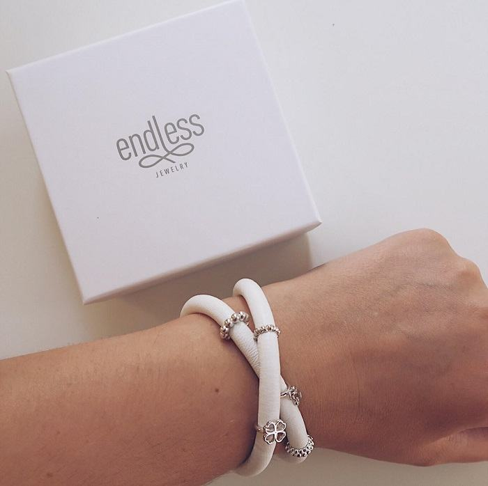 Nordic Jewellery Endless Bracelet Review - a gorgeous charm bracelet