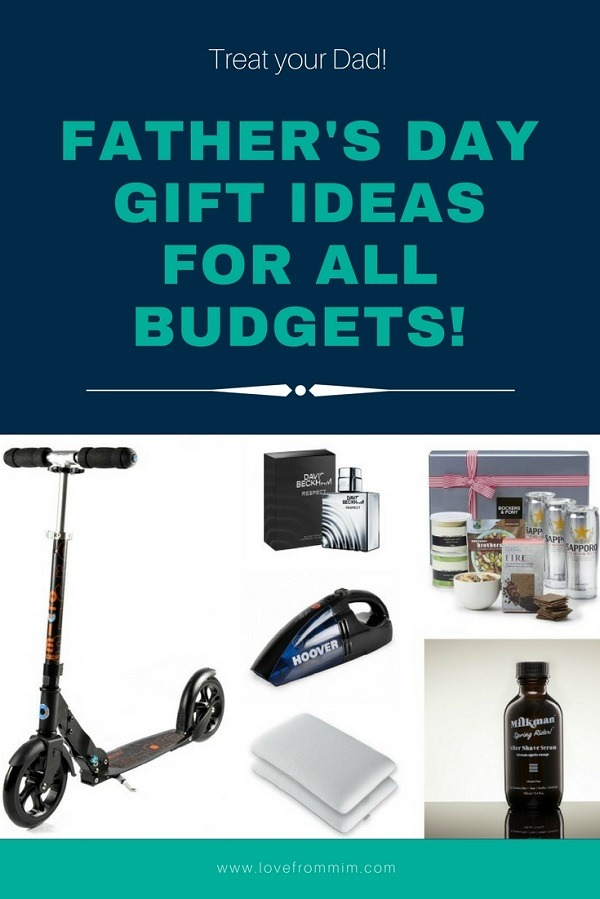 Father's Day Gift Ideas to suit all budgets - Love from Mim